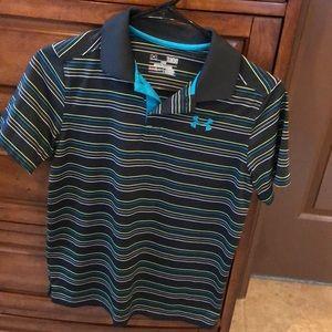 Under Armour Boys Golf Polo Shirt